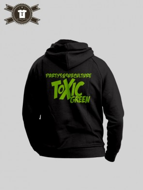 Toxic Green - Subculture / Hoodie Women