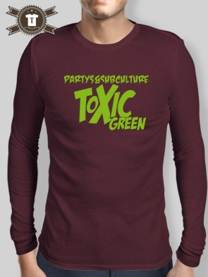 Toxic Green - Subculture / Longsleeve Shirt Men