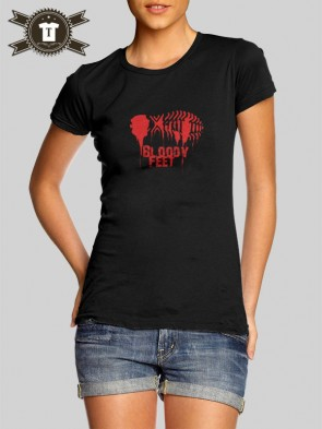 Bloody Feet / Girlie Shirt