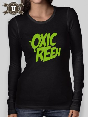 Toxic Green / Longsleeve Shirt Women