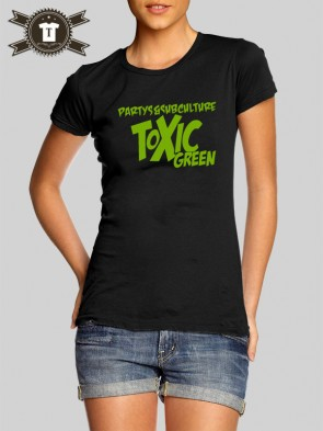 Toxic Green - Subculture / Girlie Shirt