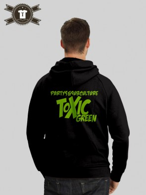 Toxic Green - Subculture / Hoodie Men