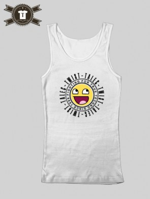 Talec Twist - Fighting for true Techno - Smiley / Tank Top Women