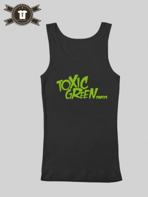 Toxic Green - Party's / Tank Top Women