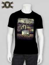 Welcome To Wasteland / Slim Fit Shirt