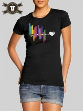 hearthis.at Wave / Girlie Shirt