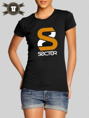 Sector8 - Logo / Girlie Shirt