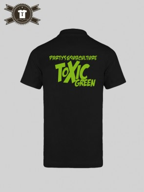 Toxic Green - Subculture / Polo Shirt Men