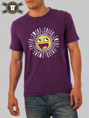 Talec Twist - Fighting for true Techno - Smiley / T-Shirt