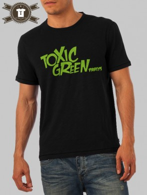 Toxic Green - Party's / T-Shirt